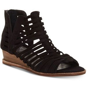 Vince Camuto Revey Exposed Ankle Wedge Sandals